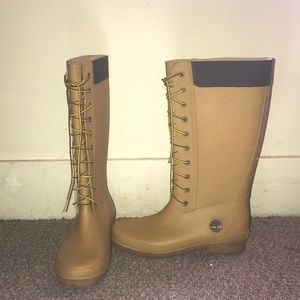 Ladies Timberline rain boots! Final price No trade